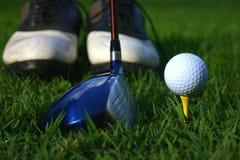 gra w golfa Zdjęcia Stock