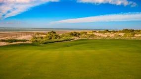 Grać w golfa Przy Vidanta polem golfowym Przy Majskim Obraz Stock