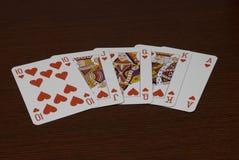 gra w karty Zdjęcie Stock