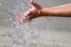 gra wody Zdjęcie Stock