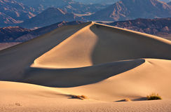 grań wydmowy wielki piasek Zdjęcie Stock