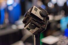 360-graad het Virtuele Systeem van de Werkelijkheidscamera Stock Afbeeldingen