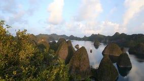 360 graadpanorama van tropische eilanden stock videobeelden