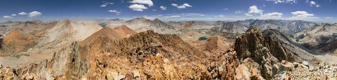 360 graadsiërra Bergpanorama Royalty-vrije Stock Foto