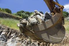 Graafemmerhoogtepunt van rotsen Stock Fotografie