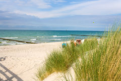 Graal-Müritz beach Royalty Free Stock Photos