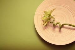 Graan bamboo spa Royalty-vrije Stock Foto