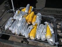 Graan op de grill Stock Afbeeldingen