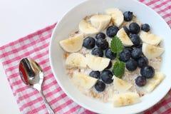 Graangewas voor ontbijt Stock Foto's