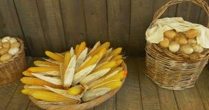Graangewassenbrood stock videobeelden