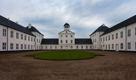 Graasten castle, summer residence Royalty Free Stock Image