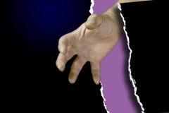 Grab it. Hand reaching vector illustration