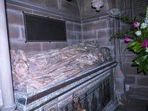 Grab in der Gemeinde-Kirche St. Mary's in unterem Alderley Cheshire Lizenzfreie Stockfotografie