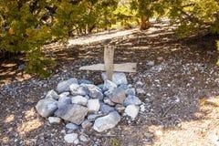 Grab des Death Valley stockbild
