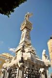 Grab des Friedhofs Cristobal Colon Stockbild