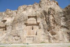 Grab des Königs Daeiros nahe Persepolis Lizenzfreies Stockfoto