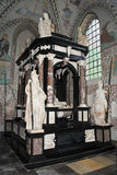 Grab des Königs Frederick II in der Rockilde Kathedrale Stockfotos