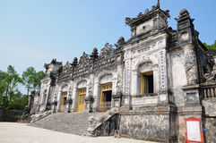 Grab des Kaisers Khai Dinh Stockfotografie
