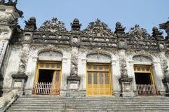 Grab des Kaisers Khai Dinh lizenzfreies stockbild