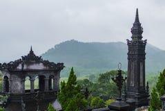 Grab des Kaisers Khai Dinh, Farbe, Vietnam stockfoto