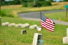 Grab des Soldaten Lizenzfreie Stockbilder