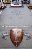Grab des unbekannten Soldaten lizenzfreie stockfotos