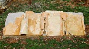 Grab im archäologischen Bereich von Nomentum-Eretum, Rom Stockfotografie