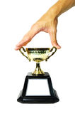 Grab Trophy Royalty Free Stock Photos