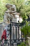 Grab von Chopin Stockbilder