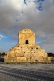 Grab von Cyrus das große in Pasargadae, Persepolis, der Iran stockbild