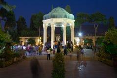 Grab von Hafez in Shiraz, der Iran Stockbilder