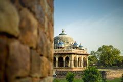 Grab von Isa Khan in Delhi, Indien stockbild