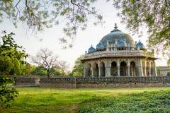 Grab von Isa Khan in Delhi, Indien lizenzfreies stockbild