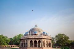 Grab von Isa Khan in Delhi, Indien lizenzfreie stockbilder