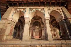 Grab von Isa Khan in Delhi, Indien lizenzfreie stockfotos