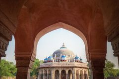 Grab von Isa Khan in Delhi, Indien stockfoto