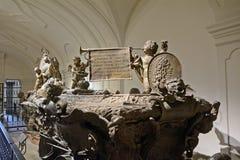 Grab von Joseph von Habsburg, Wien, Österreich Lizenzfreie Stockfotos