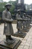 Grab von Khai Dinh, Farbe, Vietnam. lizenzfreie stockfotografie