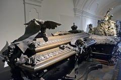 Grab von Leopold von Habsburg, Wien, Österreich Lizenzfreie Stockbilder