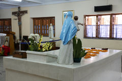 Grab von Mutter Teresa in Kolkata Stockfotos
