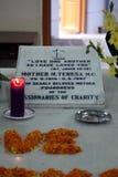 Grab von Mutter Teresa in Kolkata Lizenzfreies Stockbild