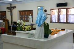 Grab von Mutter Teresa in Kolkata Lizenzfreie Stockfotografie