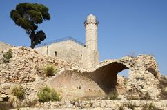 Grab von Propet Samuel in Jerusalem israel Stockfotos