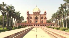 Grab von Safdarjung in Neu-Delhi, Indien, Video der Gesamtl?nge 4K stock footage