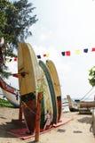 Surfing Sri Lanka welligama stock image