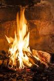Graba z płonie ogieniem. fotografia royalty free