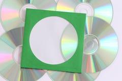 Grabación de datos CD Imágenes de archivo libres de regalías
