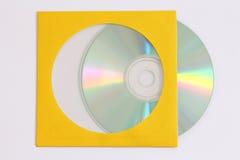 Grabación de datos CD Foto de archivo