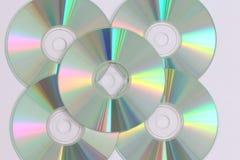 Grabación de datos CD Foto de archivo libre de regalías