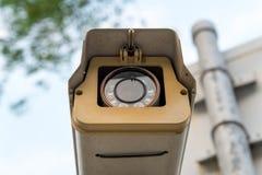 Grabación de la cámara de vigilancia del CCTV Imagenes de archivo
